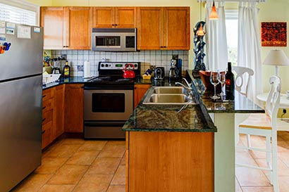 Fully Equipped Kitchen for One Bedroom Condo