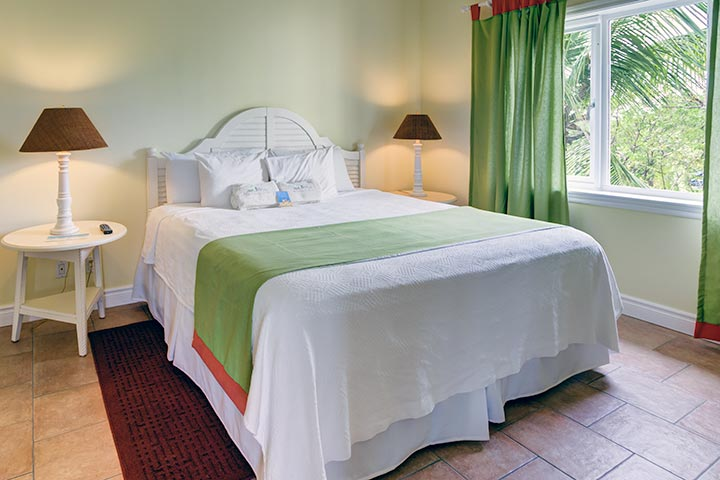 two bedroom condo. Master Bedroom w  King Size Bed in Two Condo Pineapple Fields Resort Eleuthera Bahamas