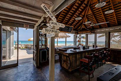 Tippy's Beachfront Bar on Eleuthera Island
