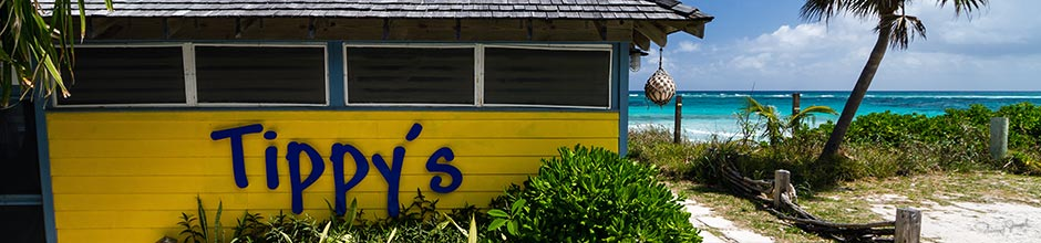 Tippy's Restaurant and Beach Bar - Eleuthera Bahamas